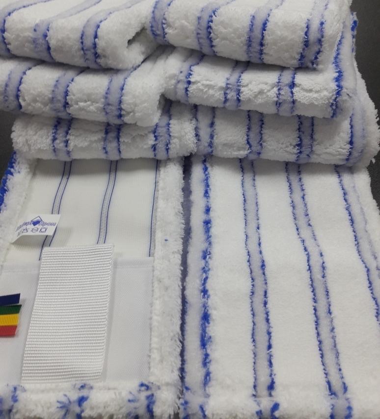 МОП для уборки 40 на 13 синий с ушками для отжима