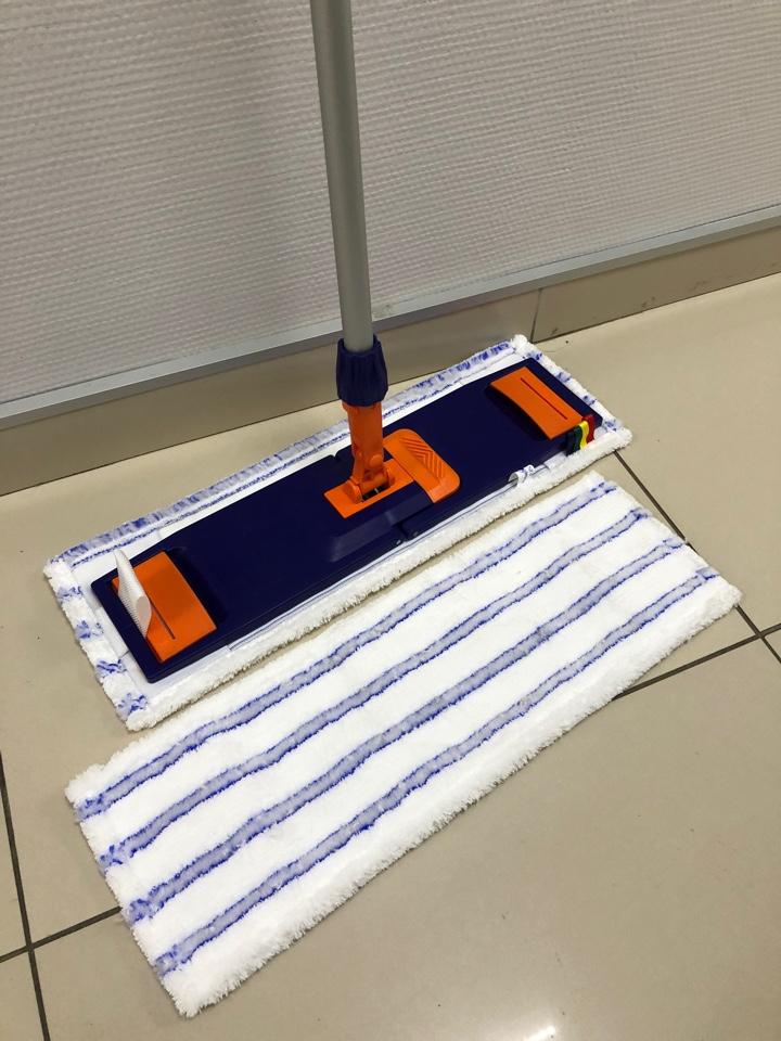 Швабра для уборки больших помещений с отжимом (профессиональная)