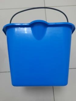 Ведро 20 литров пластик синее